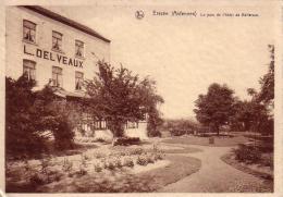 Erezée  Le Parc De L'Hôtel De Belle-Vue Circulée En 1936 - Erezee