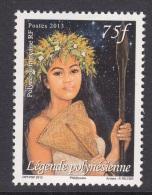 4.- 011 POLYNESIE FRANÇAISE 2013. FEMME. LEGENDE POLYNESIENNE. - Französisch-Polynesien