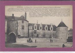 91.-  DOURDAN .-  Le Château Fort -Entrée Principale - Dourdan