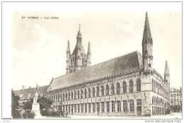 YPRES LES HALLES,BEAU PLAN REF 14331 - Belgique