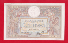 "BILLET 100 FRANCS  "" LUC OLIVIER MERSON  ""  DU  19-5-1939  E.66730 - 50 F 1927-1934 ''Luc Olivier Merson''"