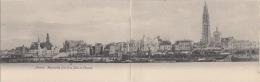 Antwerpen Anvers    Prachtig Panorama Op Dubbel Grootte  Postkaart         Scan 5119 - Antwerpen