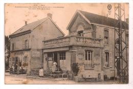 OIRY - Gare - Embranchement Des Lignes Paris-Avricourt Et Oiry-Romilly - Café,Tabac, Em. Leclaire - Ecuries Et Garage - Autres Communes