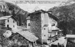 [DC7001] FIERY (Aosta) - VALLEE D'AYAS - HOTEL PENSION BELLEVUE - Viaggiata 1913 - Old Postcard - Italia