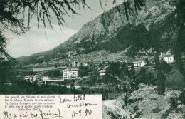 [DC7003] VALLE D'AOSTA - BRUSSON (ALTITUDINE 1332) - Viaggiata - Old Postcard - Italia