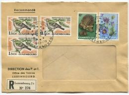 Lettre Recommandé Jour D'emission 1970 - Luxembourg