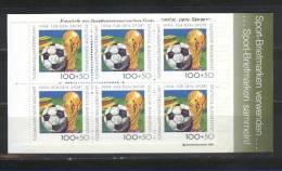 ALLEMAGNE   CARNET  N° 1546 * *   Cup 1994  Football  Soccer  Fussball - Coupe Du Monde