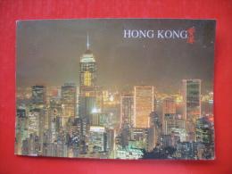 Hong Kong Night Scene From Peak - Cina (Hong Kong)