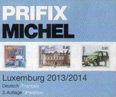 PRIFIX Michel Briefmarken 2014 Neu 25€ Spezial Katalog Luxemburg: ATM MH Dienst Porto Besetzungen In Deutsch-französisch - Kunst