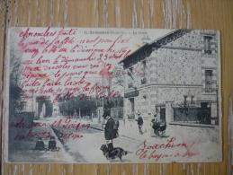 CPA SAINT GRATIEN - LA POSTE - BELLE ANIMATION - - Saint Gratien