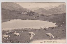 CPA LAC DU CHALET VIEUX En 1909!! - VD Vaud