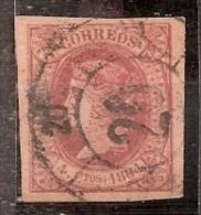 ESPAÑA 1864 - Edifil #64b  - VFU - Usati