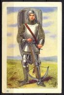 RI-RI DEMARET - HISTOIRE MILITAIRE DE BELGIQUE - ARBALETRIER XVe SIECLE - Otros