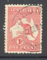 WESTERN AUSTRALIA, Postmark ´WILUNGA´ On Kangaroo Stamp - 1913-48 Kangaroos