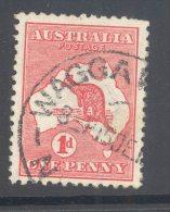 NEW SOUTH WALES, Postmark ´WAGGA WAGGA´ On Kangaroo Stamp - Used Stamps