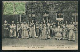 CARTE POSTALE ANCIENNE AYANT CIRCULE 1909 – POPERINGHE/BELGIQUE – REINE DU ST ROSAIRE - (GROS PLAN) SUPERBE - Poperinge