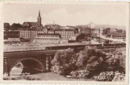 CPA BELGIQUE MARCHIENNE AU PONT Panorama Ligne Du Chemin De Fer - Charleroi