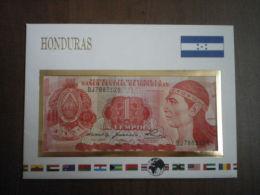 HONDURAS Notenbriefe 1 Lempira Perfetta - Honduras