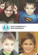 SOS CHILDREN'S VILLAGE * CHILD * SUPERMAN * COMICS * MOVIE * CINEMA * FILM * CALENDAR * SOS Gyermekfalu 2008 * Hungary - Calendarios