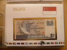 SINGAPORE Notebrief 1$ Perfetta - Singapore