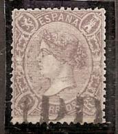 ESPAÑA 1865 - Edifil #79 - VFU - Used Stamps