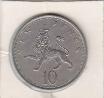 10 NEW PENCE Copper Nickel 1970 - 10 Pence & 10 New Pence