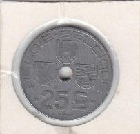 25 CENTIMES Zinc Léopold III 1946 FL/FR - 1934-1945: Leopold III