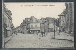 - CPA 27 - Evreux, Rue Joséphine Et Rue De La Préfecture - Evreux