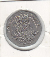 20 Pence Cupro-nickel 1982 - 20 Pence