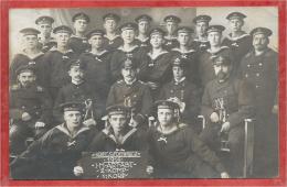Kriegsschiff  - Equipage Bateau De Guerre Allemand - Carte Photo - Foto - Kriegsfreiwillige - 3 Scans - Guerre
