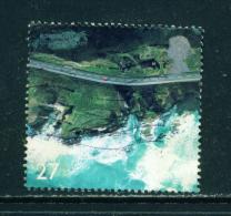 GREAT BRITAIN - 2002  Coastlines  27p  Used As Scan - Usados