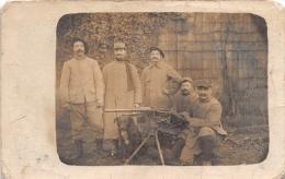 ¤¤  -  Carte Photo Militaire   -  Guerre 1914-18  -  Mitrailleuse En 1916  -  277 Sur Les Cols   -  ¤¤ - Matériel