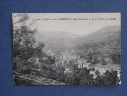 CPA-30-LE MARTINET SUR AUZONNET-Vue Générale, Dans Le Centre, Les écoles-( Port Gratuit) - Other Municipalities