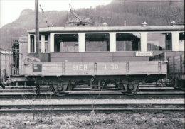 Chemin De Fer Stansstad – Engelberg, Wagon à Grafenort , Photo 1961 BVA StEB 174.7 - Eisenbahnen