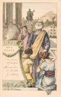 ILLUSTRATEUR G.G. BRUNO QUO VADIS ROME ANTIQUE JEUNES MARIES AMOUR 1900 ROMA ITALIA - Illustrateurs & Photographes