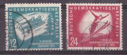 Ot_ DDR - Mi.Nr. 280 - 281 - Gestempelt Used - DDR