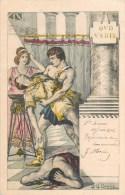 ILLUSTRATEUR G.G. BRUNO QUO VADIS ROME ANTIQUE JULES CESAR ROME 1900 ROMA ITALIA - Illustrateurs & Photographes