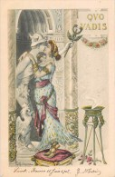 ILLUSTRATEUR G.G. BRUNO QUO VADIS ROME ANTIQUE AMOUR STATUE ROME 1900 ROMA ITALIA - Illustrateurs & Photographes