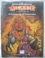 A927  GIOCO DI RUOLO ATLANTE IL GRANDUCATO DI KARAMEIKOS EDITRICE GIOCHI DUNGEONS DRAGONS - Dungeons & Dragons