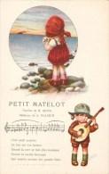 "ILLUSTRATEUR A. BERTIGLIA "" PETIT MATELOT "" MUSIQUE POEME POESIE ENFANTINA AMOURE ITALIA - Bertiglia, A."