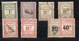 N°43 à 50 - Obliteres Sauf N°43 Et 48 Neufs (**) - 1859-1955 Used