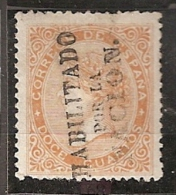 ESPAÑA 1868 - Edifil #89 - MLH * Gobierno Provisional/Madrid - 1868-70 Gobierno Provisional