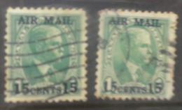 P714.-.PANAMA-CANAL ZONE .-. 1929 .-. SC#: C1,C2 .-.  USED.-. CV US$ 53.00 /  39.80 € - Kanalzone
