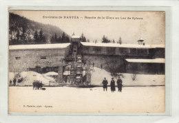 NANTUA (01) / Environ De Nantua / INDUSTRIES / FABRIQUE DE GLACE / Récolte De La Glace Au Lac De Sylans / Animation - Nantua