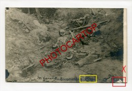 HOOGE-Sprengtrichter-Cratere De Mine-Cadavre-Carte Photo Allemande-Guerre 14-18-1WK-BELGIQUE-BELGIEN-Flandern- - Ieper