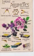 FANTAISIE-1932-langage Des Allumettes - Fancy Cards