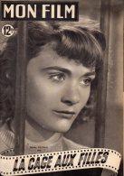 """MAGAZINE """" MON FILM """" DANIELE DELORME DANS """" LA CAGE AUX FILLES """" 1950 - JOHN WAYNE - Cinéma/Télévision"""