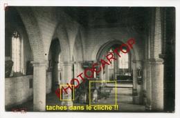 HANDZAME-Interieur De L'Eglise-Carte Photo Allemande-Guerre 14-18-1WK-BELGIQUE-BELGIEN-Flandern- - Kortemark