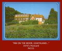 "P4555  ""INN ON THE MOOR, Goathland, North Yorkshire, YO22 5LZ…""  (1980's. Colour Photogravure Postcard) - England"