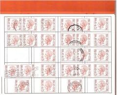 Belgien Dubletten Lot Gestempelt Used 7 Bilder - Sammlungen